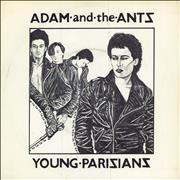 Click here for more info about 'Adam & The Ants - Young Parisians - 1st + p/s'