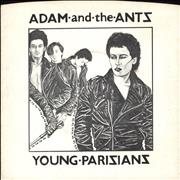 Click here for more info about 'Adam & The Ants - Young Parisians - 2nd - P/S - EX'