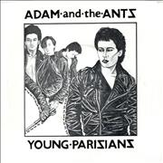 Click here for more info about 'Adam & The Ants - Young Parisians - 2nd - P/S'