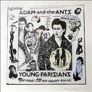 Click here for more info about 'Adam & The Ants - Young Parisians - Punk Art Print'