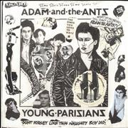 Click here for more info about 'Adam & The Ants - Young Parisians - Punk Art sleeve'