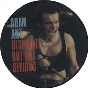Click here for more info about 'Adam Ant - Desperate But Not Serious'