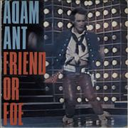 Click here for more info about 'Adam Ant - Friend Or Foe - p/s'