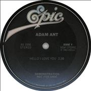 Click here for more info about 'Adam Ant - Hello I Love You'