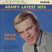 Click here for more info about 'Adam Faith - Adam's Latest Hits EP'