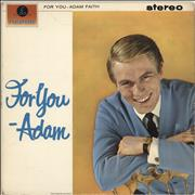 Click here for more info about 'Adam Faith - For You - Adam'