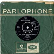 Click here for more info about 'Adam Faith - Stop Feeling Sorry For Yourself - Factory Sample'