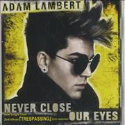 Click here for more info about 'Never Close Our Eyes'