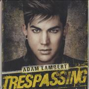Click here for more info about 'Adam Lambert - Trespassing'