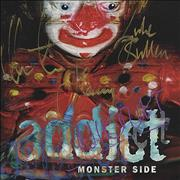 Click here for more info about 'Monster Side - Fully Autographed!'