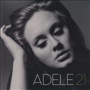 Adele 21 - Twenty One Japan CD album Promo