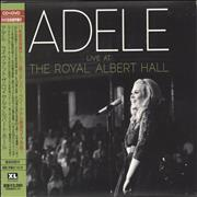 Adele Live At The Royal Albert Hall - EX Japan 2-disc CD/DVD set