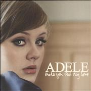 "Adele Make You Feel My Love UK 7"" vinyl"