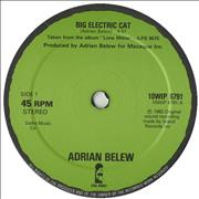 Click here for more info about 'Adrian Belew - Big Electric Cat'
