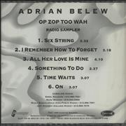 Click here for more info about 'Adrian Belew - Op Zop Too Wah'