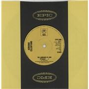 "Adriano Celentano The Language Of Love (Prisoncol ...) - Solid UK 7"" vinyl"