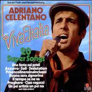 Adriano Celentano Viva Italia Germany vinyl LP