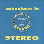 Click here for more info about 'Adventures In Stereo - A Brand New Day - Clear / Purple Vinyl'