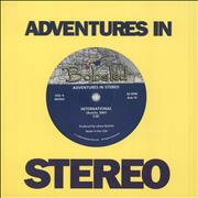 Click here for more info about 'Adventures In Stereo - International - Blue / White Vinyl'