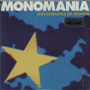 Click here for more info about 'Adventures In Stereo - Monomania + Poster'