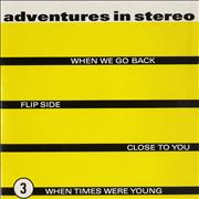 Click here for more info about 'Adventures In Stereo - When We Go Back'