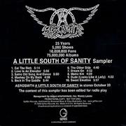 Click here for more info about 'Aerosmith - A Little South Of Sanity Sampler'