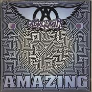 Click here for more info about 'Aerosmith - Amazing - Purple Vinyl - EX'