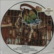 "Aerosmith Angel UK 12"" picture disc"