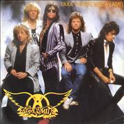 "Aerosmith Dude (Looks Like A Lady) UK 7"" vinyl"