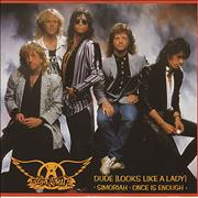 "Aerosmith Dude Looks Like A Lady UK 12"" vinyl"