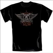 Click here for more info about 'Aerosmith - Faded Wings T-Shirt - Medium'