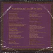 """Aerosmith Falling In Love (Is Hard On The Knees) UK 7"""" picture disc"""