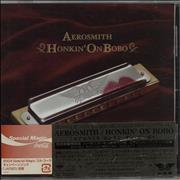 Click here for more info about 'Aerosmith - Honkin' On Bobo'
