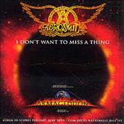 Click here for more info about 'Aerosmith - I Don't Want To Miss A Thing - Pop Mix'