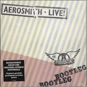 Click here for more info about 'Aerosmith - Live! Bootleg + Poster - Sealed'