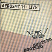 Click here for more info about 'Aerosmith - Live! Bootleg + poster'