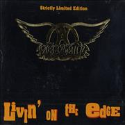 Click here for more info about 'Aerosmith - Livin' On The Edge - Gold Embossed Case'