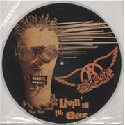 "Aerosmith Livin' On The Edge UK 12"" picture disc"