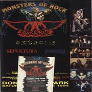 Click here for more info about 'Aerosmith - Monsters Of Rock 1994 + Ticket'