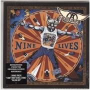 Aerosmith Nine Lives - Sealed UK 2-LP vinyl set