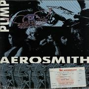 Click here for more info about 'Aerosmith - Pump + Ticket Stub'
