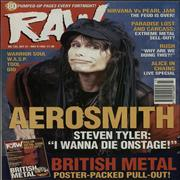 Click here for more info about 'Aerosmith - Raw No.135'