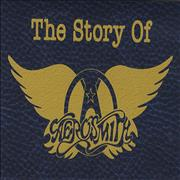 Aerosmith The Story Of Aerosmith UK cassette album Promo