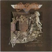 Aerosmith Toys In The Attic UK vinyl LP