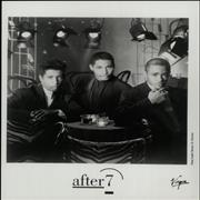 Click here for more info about 'After 7 - 1990 Press Pack'