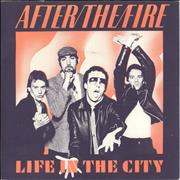 Click here for more info about 'After The Fire - Life In The City - 'A' Label'