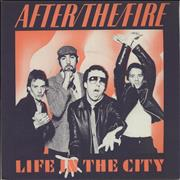 Click here for more info about 'After The Fire - Life In The City - Solid'