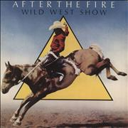 """After The Fire Wild West Show - A Label UK 7"""" vinyl Promo"""