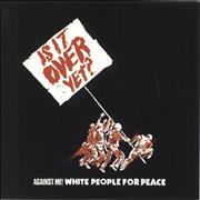Click here for more info about 'Against Me! - White People For Peace - White Vinyl'