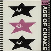Click here for more info about 'Age Of Chance - Kiss - Green Vinyl + Pink P/S'